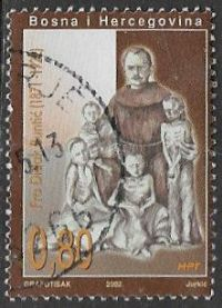 Bosnia and Herzegovina SG C93 2002 60th Death Anniversary of Father Didak Buntić 80f good/fine used